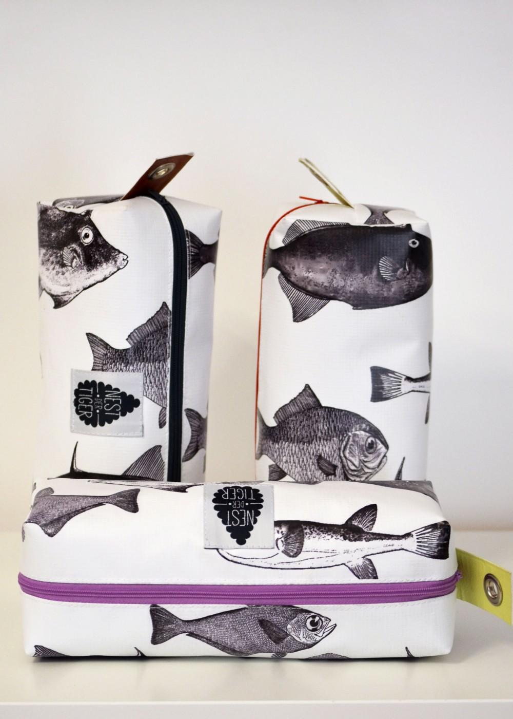 Zipptasche Fische